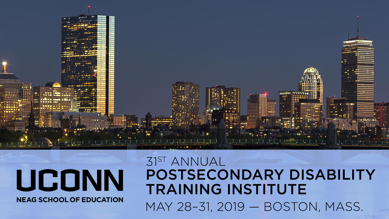 Postsecondary Training Conference
